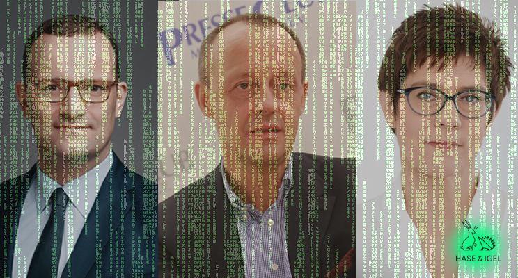 Macht's Merz? Big Data Analyse im Rennen um den CDU-Vorsitz