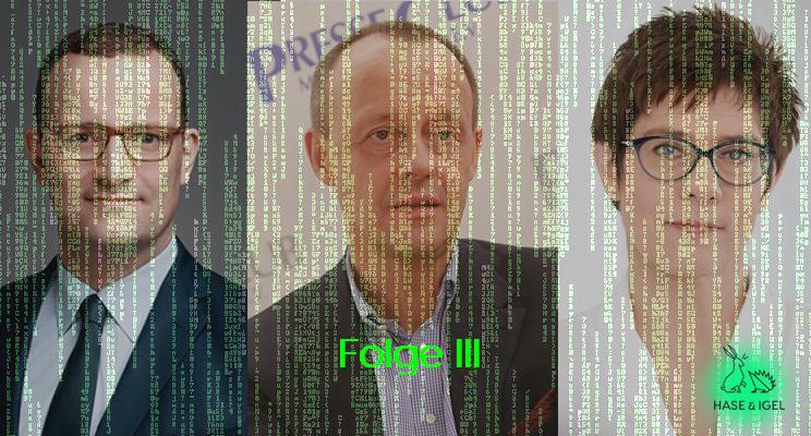 Big Data Blick auf Rennen um CDU-Vorsitz: Sprechen wir über Inhalte!