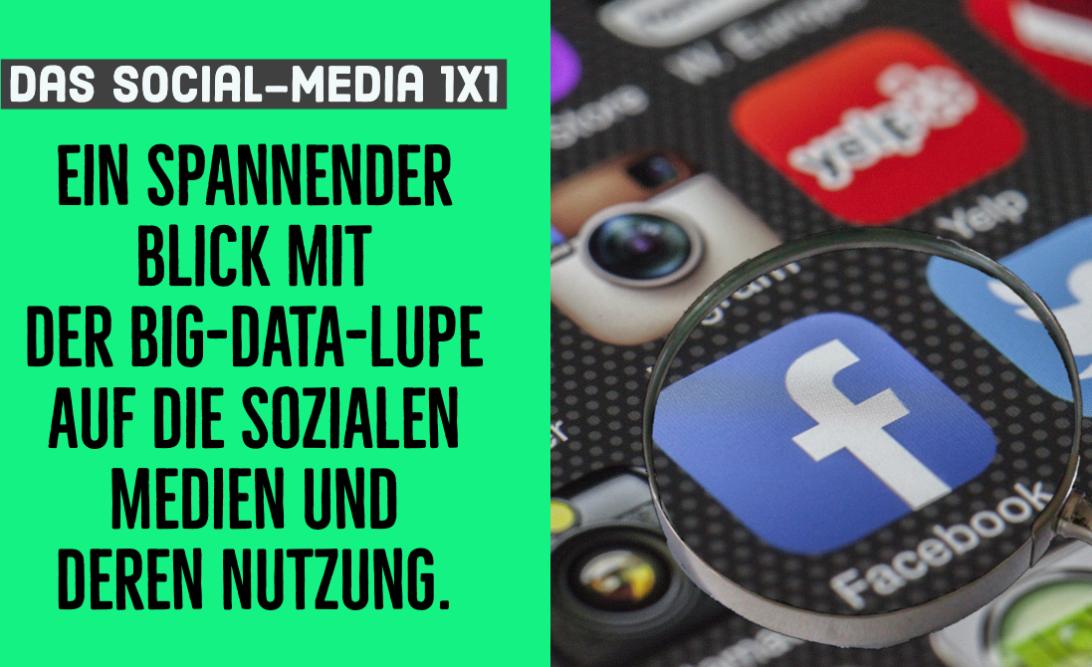 Social Media in Deutschland - die Big Data Studie